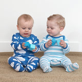 Toby Tiger cloud babygrows 2 pack