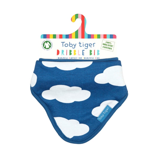 Toby Tiger cloud dribble bib