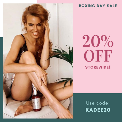 Kadee Botanicals Boxing Day Sale