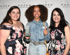 Hayley Law from Riverdale with Kadee Botanicals Body Lotion