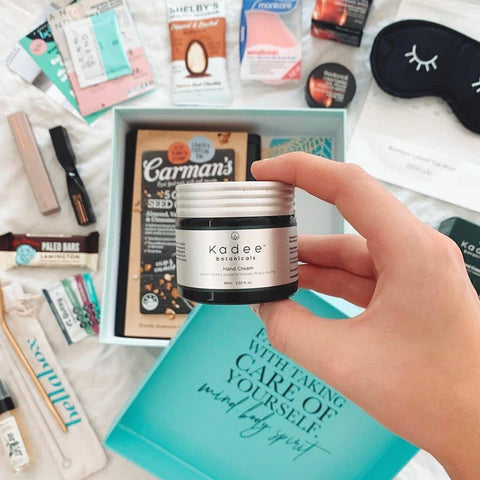 Kadee Botanicals Hand Cream in the Bellabox Welcome to Wellness subscription box