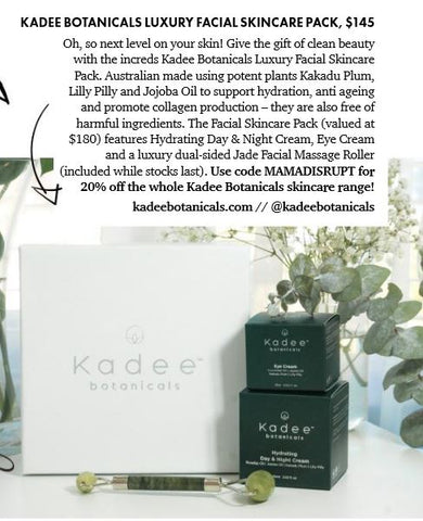 Kadee Botanicals in Mama Disrupt