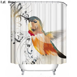Song Of The Hummingbird Shower Curtain