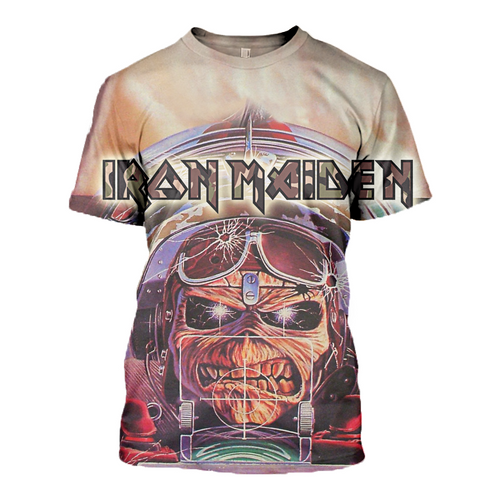 3D printed Aces high Iron Maiden T-shirt Hoodie