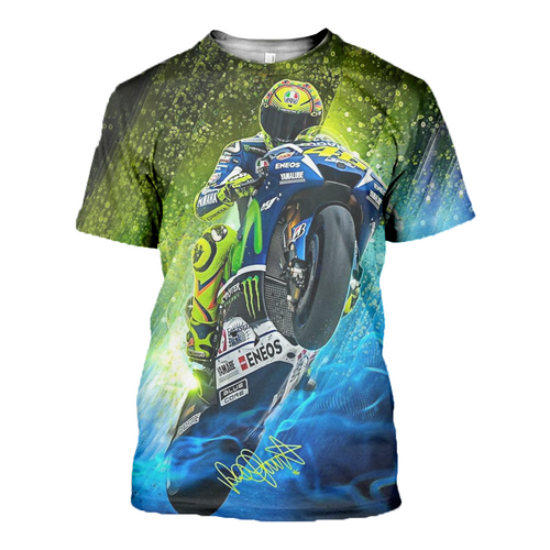 3D printed Valentino Rossi T-shirt Hoodie