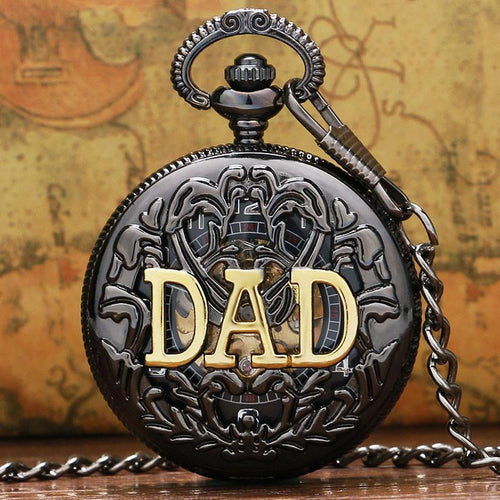 DAD Manual Semi-automatic Mechanical Pocket Watch