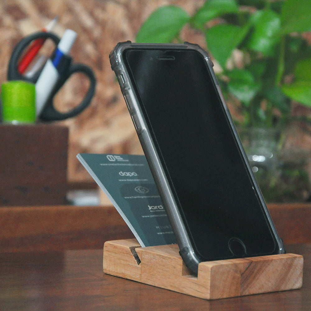 Hevea Namecard/Phone holder