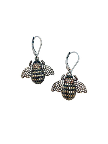 Bzzzzz Bee Earrings
