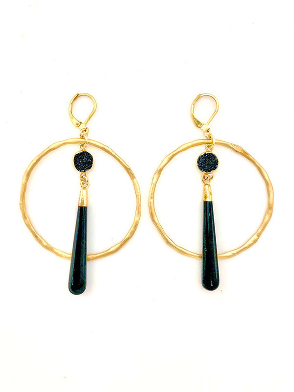 Large Jab Earrings