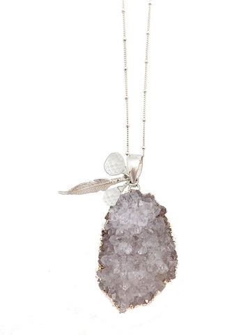 Feisty Quartz Necklace