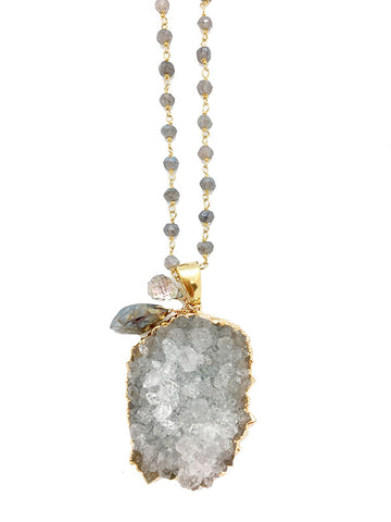Milos Quartz Necklace