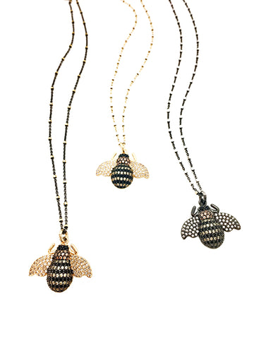 BZZZ Bees Necklace