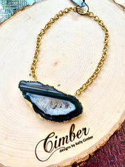Black Agate 1 Necklace