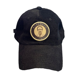 Corduroy Black Hat