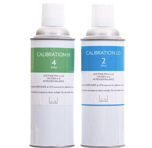 LEVLcare | 34L Calibration Canisters (1-year supply)