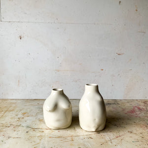 Old Married Couple Bud Vases