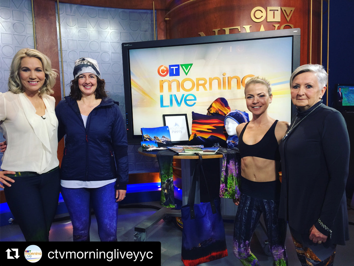 Mountain Moves on CTV Morning Live