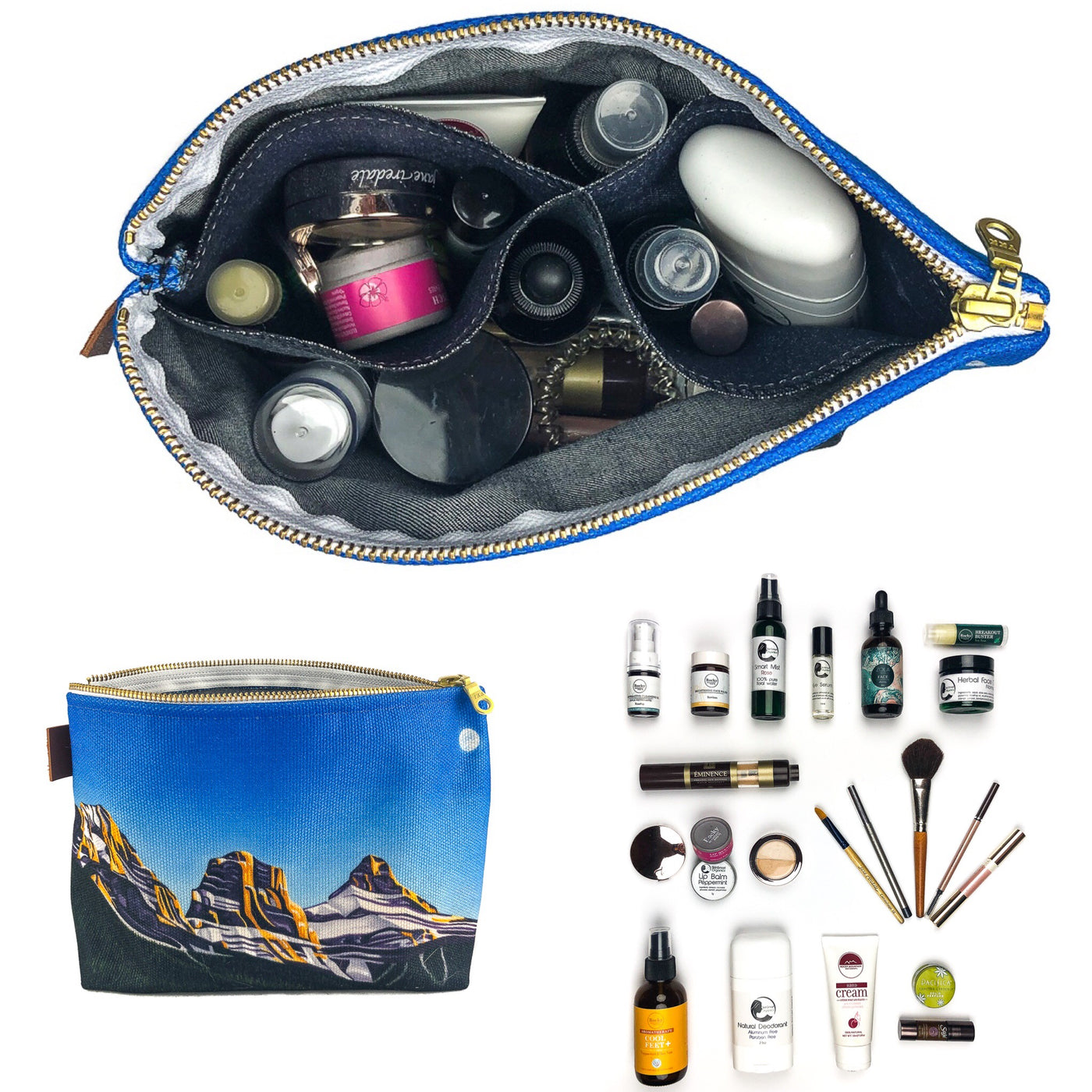 Wonder just how much you can fit in the new makeup bags?