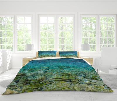 Grassi Lakes Duvet Cover Set