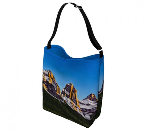 Glowing Sisters day tote bag by Mountain Moves