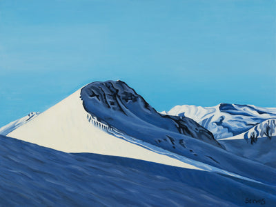 Alpine in the Cariboos Painting