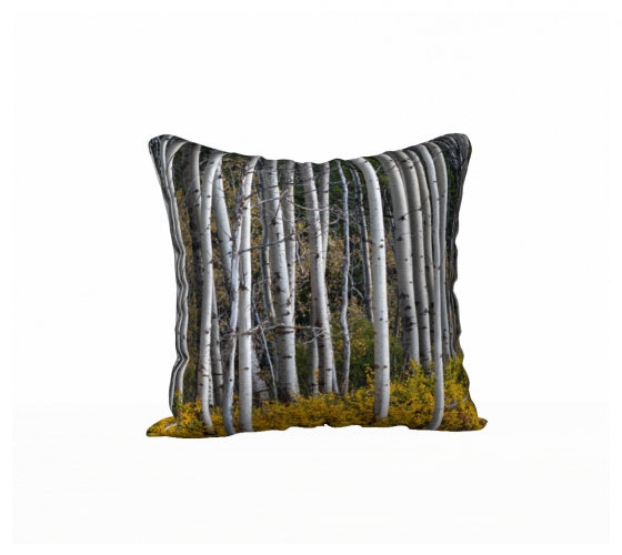 Autumn Aspens Pillow