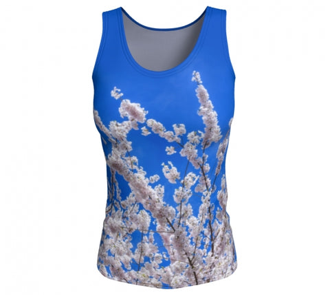 Beneath the Blossoms tank top by Mountain Moves - front