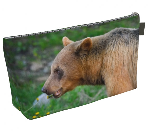 Bear Essentials makeup bag by Mountain Moves