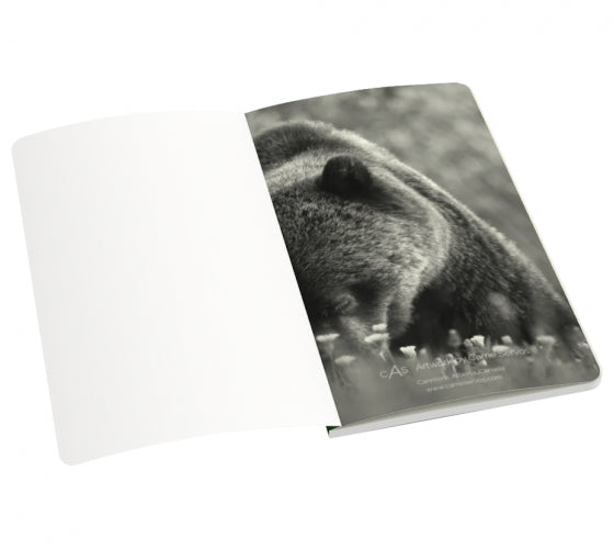 Bear Essentials notebook by Mountain Moves - inside first page