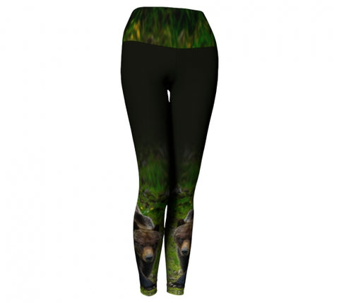 Bear Necessities leggings by Mountain Moves - front