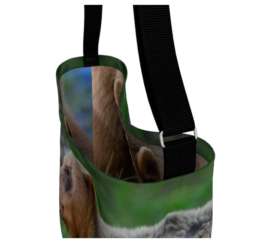 Bear Essentials day tote bag by Mountain Moves - inside