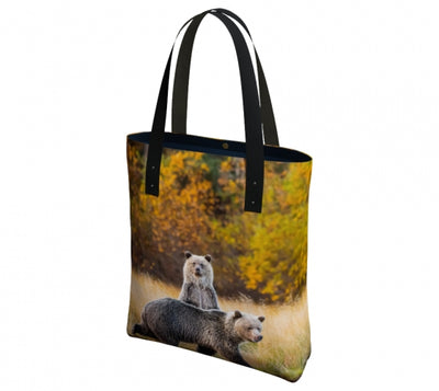 Safe Behind Mom Urban Tote Bag