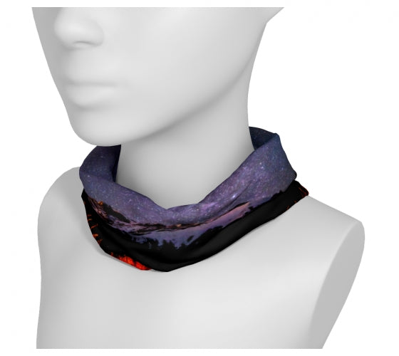 Cascading Stars headband/neckwarmer by Mountain Moves