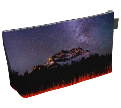 Cascading Stars Makeup Bag