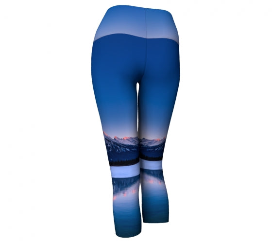 Frosty Rundle Reflections capris by Mountain Moves - back