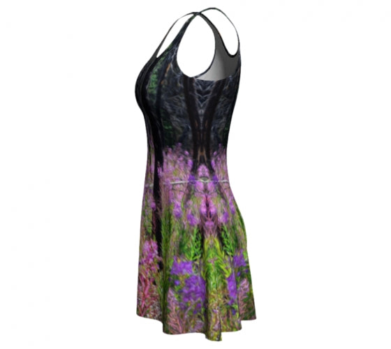 Find Your Fireweed flare dress by Mountain Moves - left