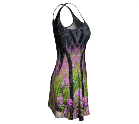 Find Your Fireweed flare dress by Mountain Moves - right