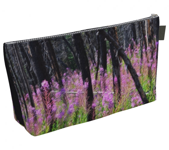 Find Your Fireweed makeup bag by Mountain Moves