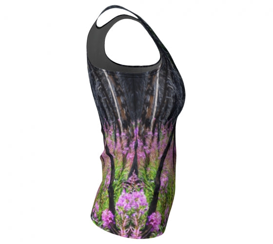 Find Your Fireweed fitted tank top by Mountain Moves - right side