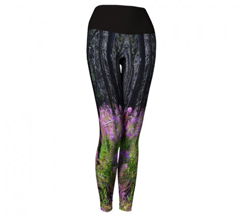 Find Your Fireweed leggings by Mountain Moves - front