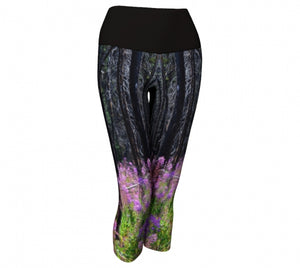 Find Your Fireweed capri leggings-front