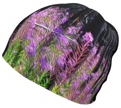 Find Your Fireweed toque by Mountain Moves - left side