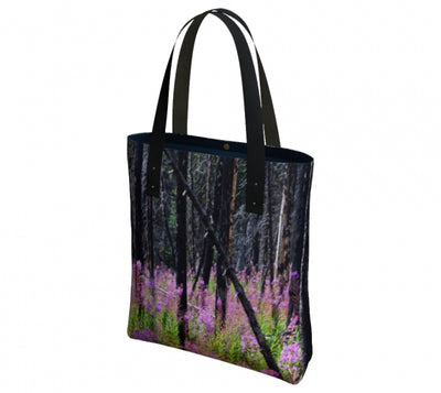 Find Your Fireweed urban tote bag by Mountain Moves