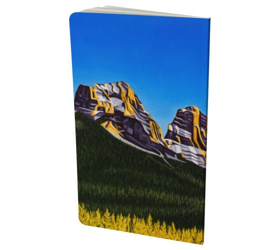 Glowing Sisters notebook by Mountain Moves - back cover