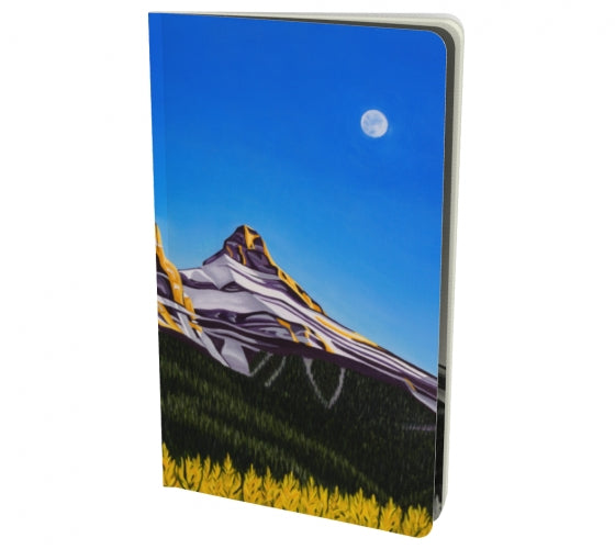 Glowing Sisters notebook by Mountain Moves