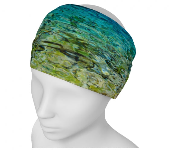 Grassi Lakes headband by Mountain Moves / Artwork by Carrie Servos
