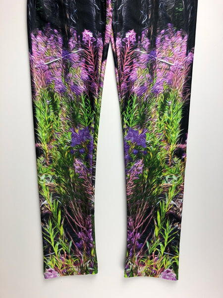 Find Your Fireweed leggings by Mountain Moves - image close up