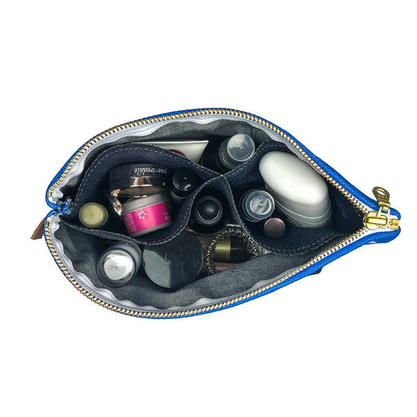 Bear Essentials makeup bag by Mountain Moves - inside filled