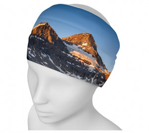 Morning Glow Blues headband by Mountain Moves