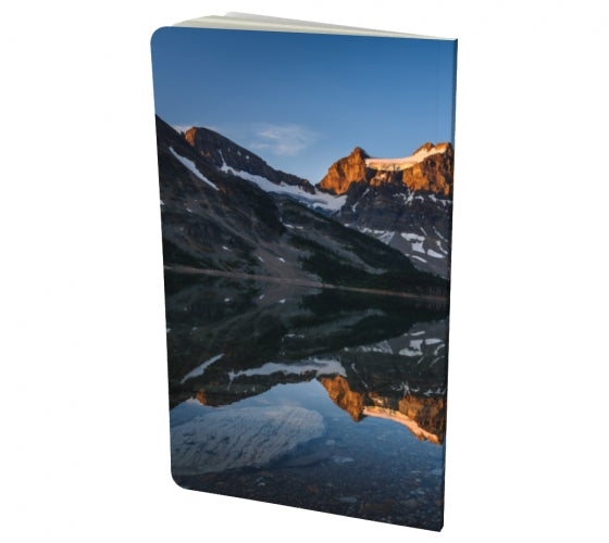 Morning Glow notebook by Mountain Moves - back cover